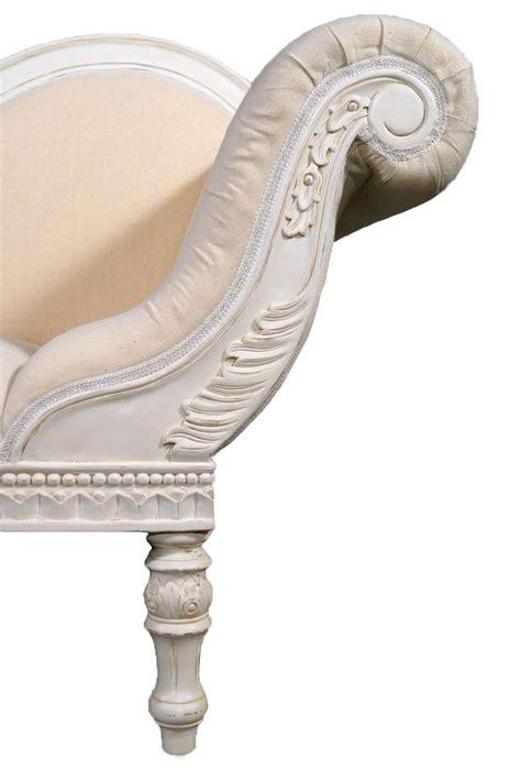 recamiere chaiselongue unterschied recamiere schwanendekor barock rokoko stilm 246 bel