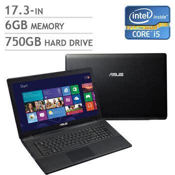 Asus Gaming Laptop Costco asus x75a qb52 cb bilingual notebook intel 174 core i5 3230m 17 3 in hd led costco toronto