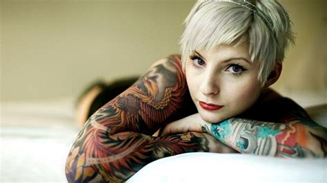 woman with tattoos tattooed wallpaper archives 1920x1080 wallpapers