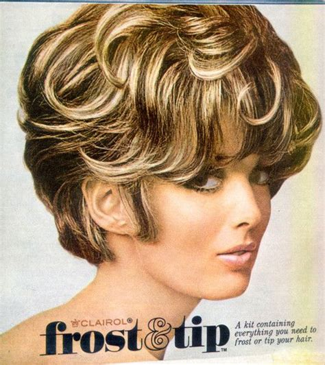 how to frost tips hair frost and tip blast from the past pinterest