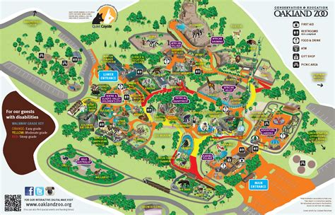 printable zoo maps zoo map google search wayfinding pinterest zoos