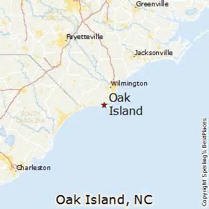 oak island carolina map best places to live in oak island carolina
