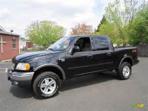 Ford F150 2003 Black 2003 Ford F150 Fx4 Supercrew 4x4 Exterior Photo