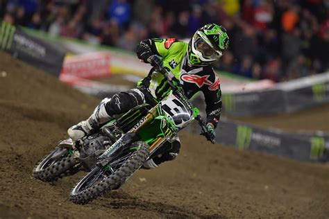 monster energy motocross monster energy kawasaki scoring high at supercross season