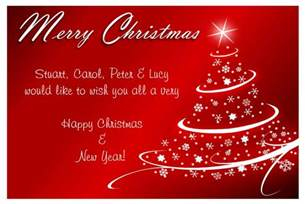 Business Letter No Signature Entertainment World Christmas Cards