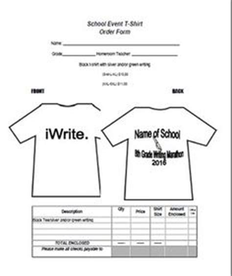 school order form template | order form | pinterest