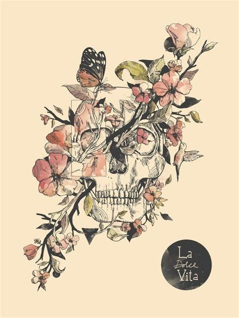skull and flower tattoos 25 best ideas about flower skull tattoos on