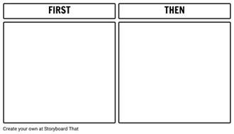 Then Template then board printable template storyboard