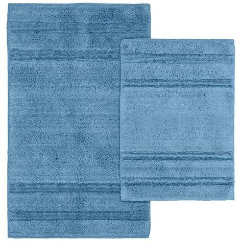 sky blue rug garland rug majesty cotton sky blue 21 in x 34 in washable rug 2 rug set pri 2pc 03