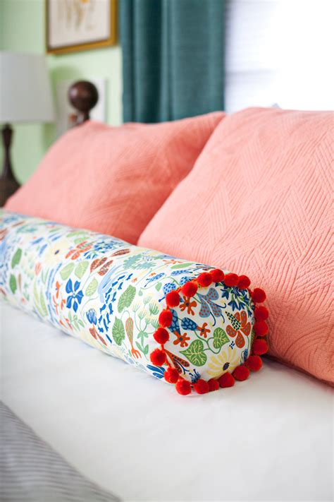 How Do You Use A Pillow by How To Make A Bolster Pillow A Beautiful Mess