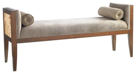 traditional bedroom benches bette bench traditional upholstered benches by
