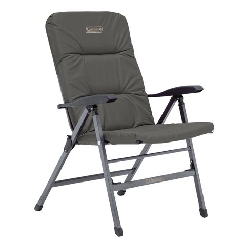 Flat Reclining Chair by Chair Flat Fold Pioneer Recliner Charcoal Grey