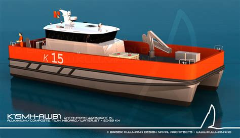 catamaran workboat birger kullmann design workboats