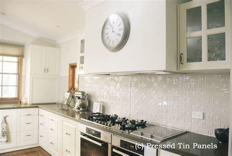 Tin Tiles For Backsplash In Kitchen wall panel kitchen splash back shoji white pressed tin