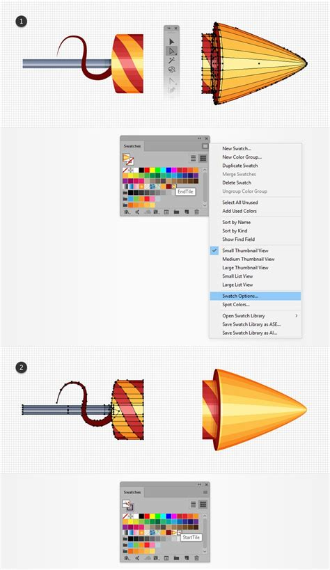save pattern swatch illustrator how to create a rocket fireworks text effect in adobe