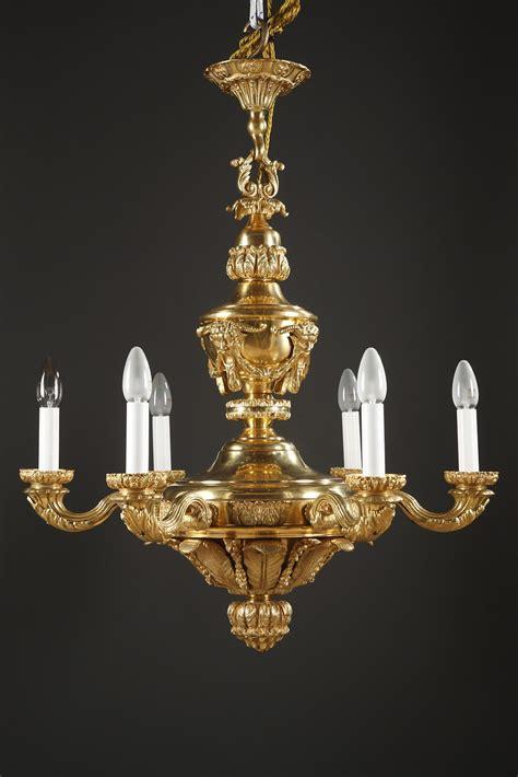 lustre en bronze lustre en bronze 224 d 233 cor de mascarons xixe si 232 cle