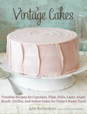Vintage Cakes After Sifting Through Rescued Recipe Cards