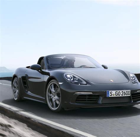 Porsche Sportwagen by Sportwagen Porsche Boxster Neues Heck Weniger Zylinder