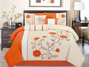 Orange Bedding Sets Orange Comforter Sets King Size Pictures To Pin On