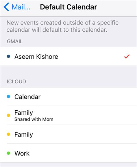 Calendar Syncselect Ios Not Syncing All Calendars To Iphone
