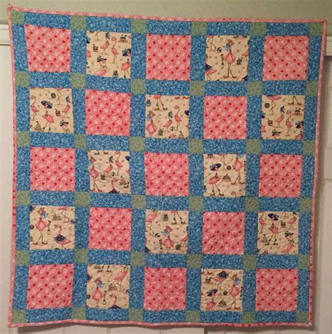 quilts for the doctor and receptionist be stitched