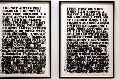 At MoMA, Glenn Ligon Artfully Articulates Powerful Words