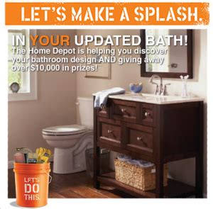 Home Depot Sweepstakes - home depot quot let s make a splash quot sweepstakes win a 2 500 home depot gift card