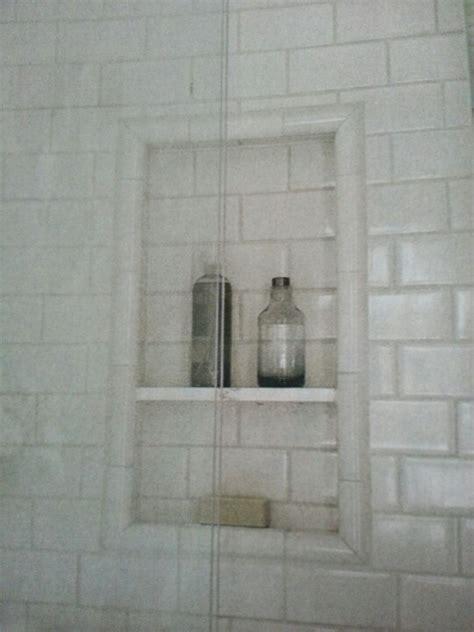 built in shower shelves dalhousie small master option