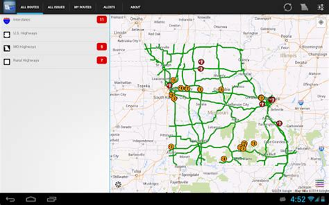 modot road closure map modot traveler information android apps on play