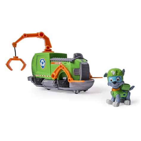 paw patrol boat truck nickelodeon paw patrol rocky s tugboat vehicle and figure