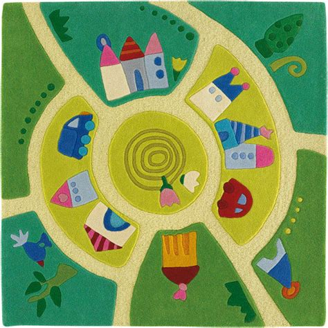 haba rug haba play world rug blueberry forest