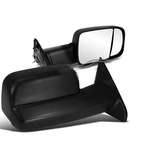 2010 dodge ram mirror 2010 2012 dodge ram 2500 3500 manual adjust towing side