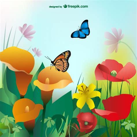 sfondi con fiori e farfalle estate sfondo con fiori colorati e farfalle scaricare