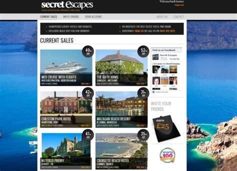 secret escapes secret escapes extends reach through partnership with