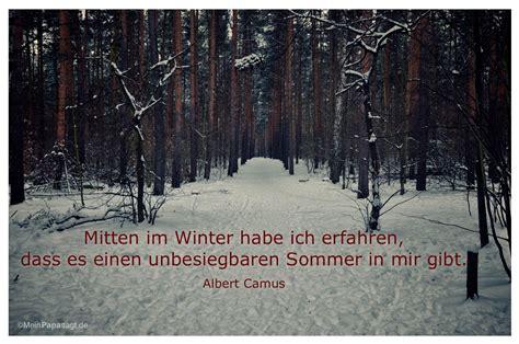 Mitten Im Winter Habe Ich Erfahren Dass Es Einen