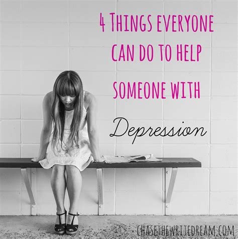 4 things everyone can do to help someone with depression