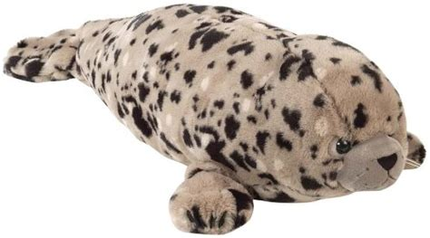 Boneka Harbor Seal Stuffed Animal Jumbo quot soft and squeezable quot animal pillows shopswell