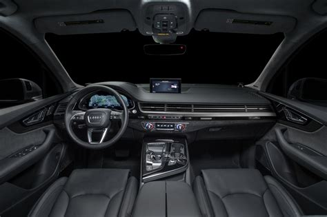 interior layout of audi q7 black 2017 audi q7 interior audi pinterest audi q7