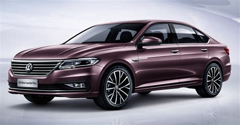 Volkswagen Plus by Volkswagen Lavida Plus Mqb Based Sedan For China