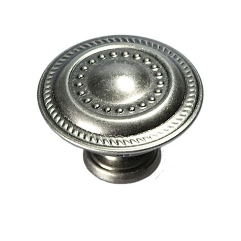 hickory hardware 1 1 4 in silver furniture knob