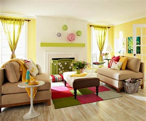 colorful living room ideas 33 colorful and airy spring living room designs digsdigs