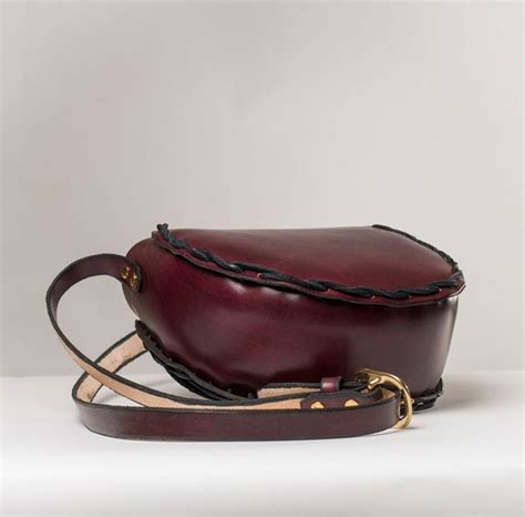 Handmade Leather Accessories - small shoulder bag handmade leather accessories