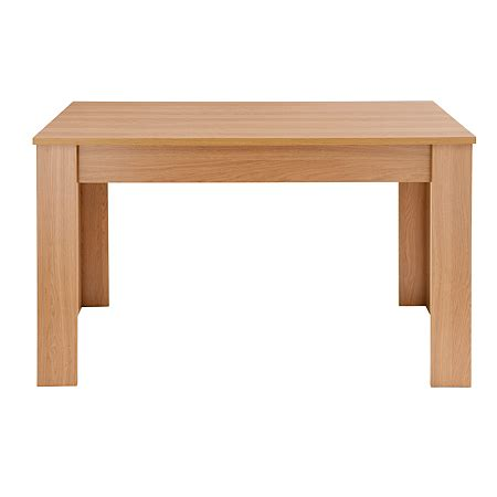 Oak Effect Dining Table Alton Rectangular Dining Table Oak Effect Dining Tables Chairs Asda Direct