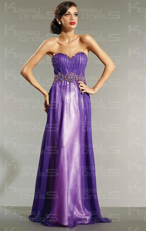a line princess prom dresses appliqued purple a line chiffon princess prom dress 2013