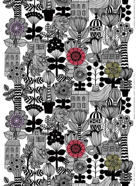 Designer Upholstery Marimekko Lintukoto Fabric
