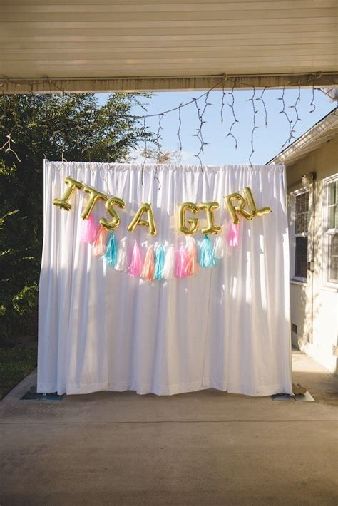 Baby Shower Backdrop by Raindrops Unicorns Themed Baby Shower Unicorn Baby