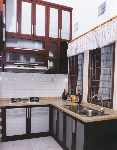 model dapur minimalis ruang sempit terbaru rumah impian