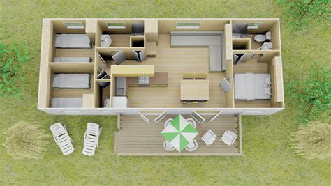 vista stacaravan 3 slaapkamer 2 badkamers 8 personen