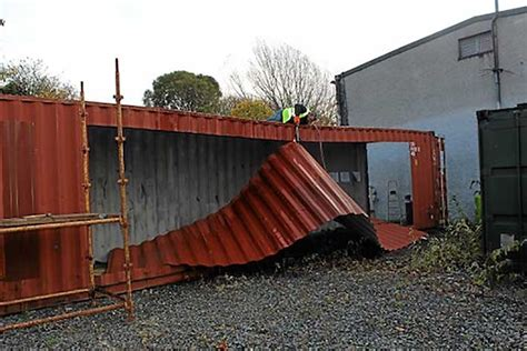 ireland s shipping container home built in 3 days
