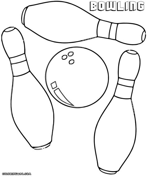 bowling coloring pages coloring pages to download and print
